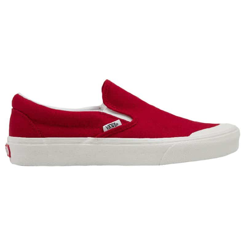 VANS CLASSIC SLIP ON 1 TANGO RED