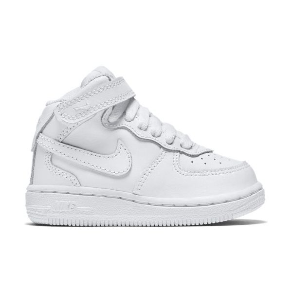 FORCE 1 MID WHITE