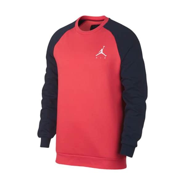 JUMPMAN FLEECE CREW ORANGE