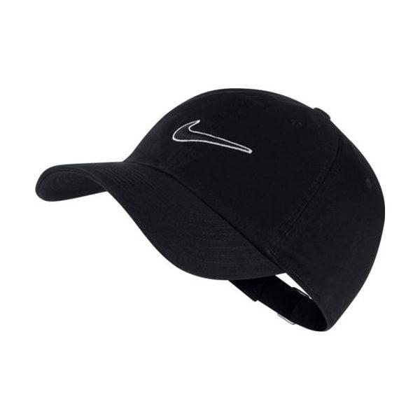 H86 CAP ESSENTIAL SWSH BLACK