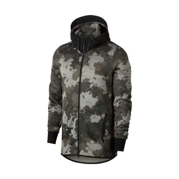 AIR MAX HOODIE FZ FT AOP BROWN