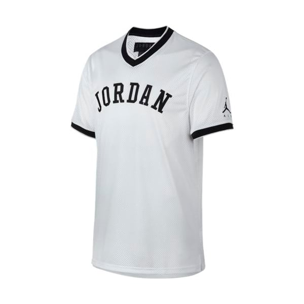 JUMPMAN AIR MESH JERSEY WHITE