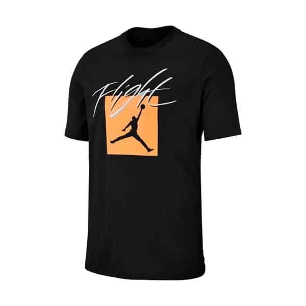 MJ JUMPMAN FLT SS CREW BLACK