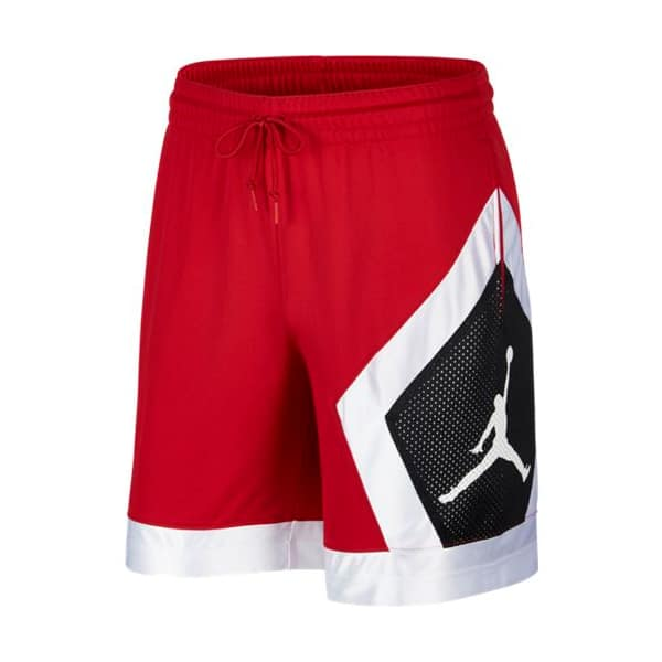M J JUMPMAN DIAMOND SHORT RED