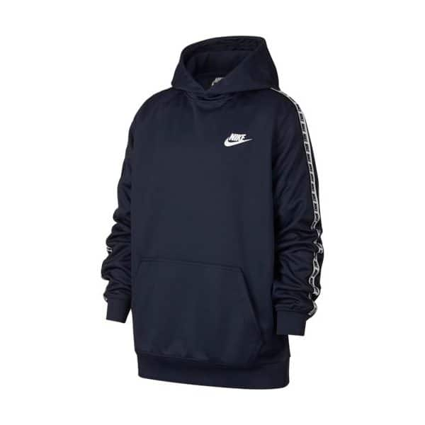 NSW REPEAT PO HOOD POLY NAVY