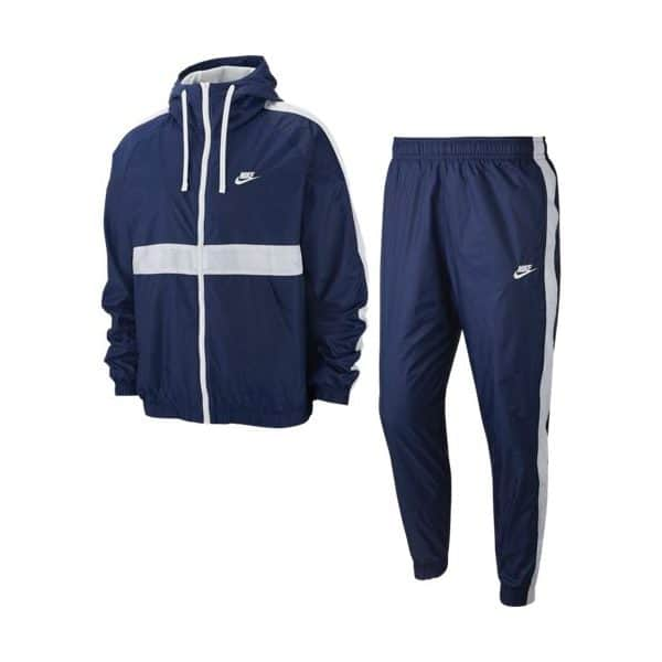 NSW CE TRACK SUIT HD WVN NAVY