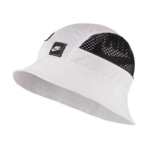 NSW BUCKET CAP MESH WHITE