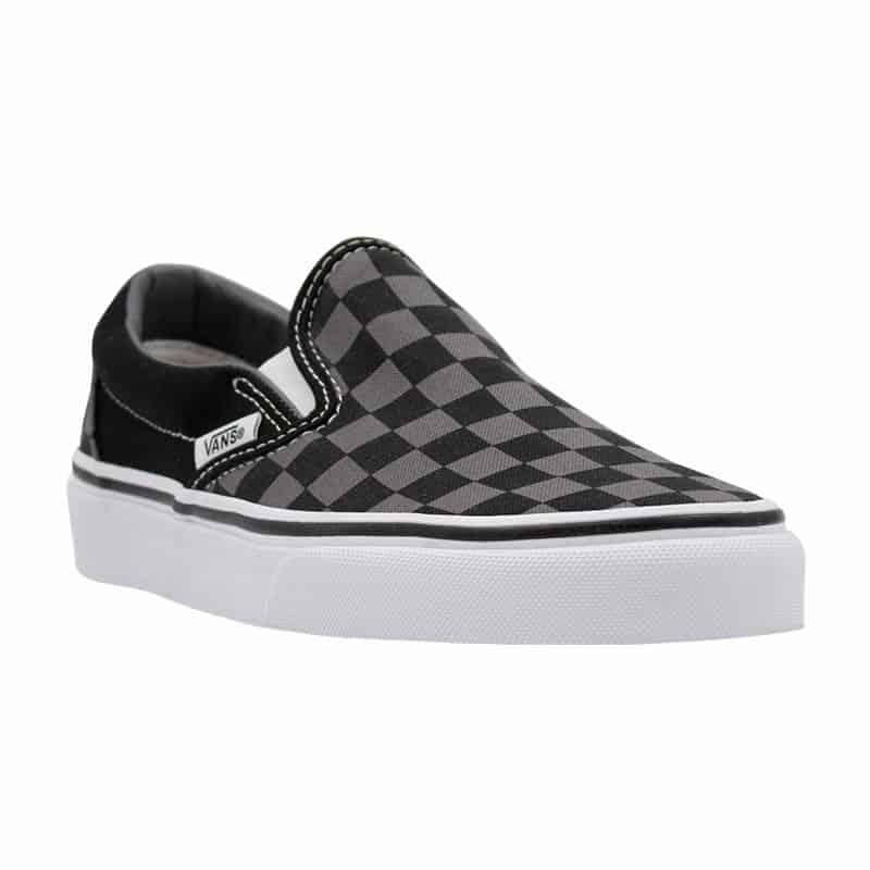 VANS CLASSIC SLIP ON BLK PEWTER CHECKER BLACK
