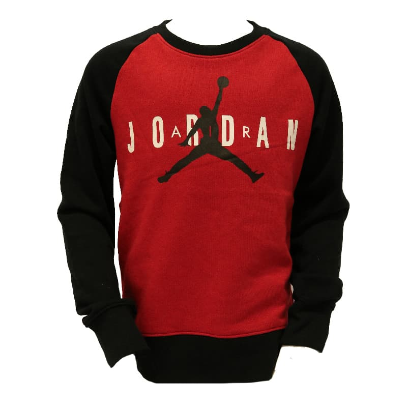 JORDAN KIDS TOPS JDB JUMPMAN AIR RED