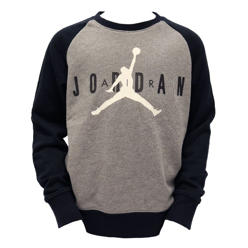JORDAN KIDS TOPS JDB JUMPMAN AIR GREY