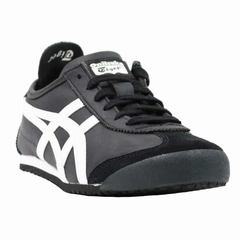 TIGER T99 LEATHER MENS FOOTWEAR MEXICO 66 BLACK