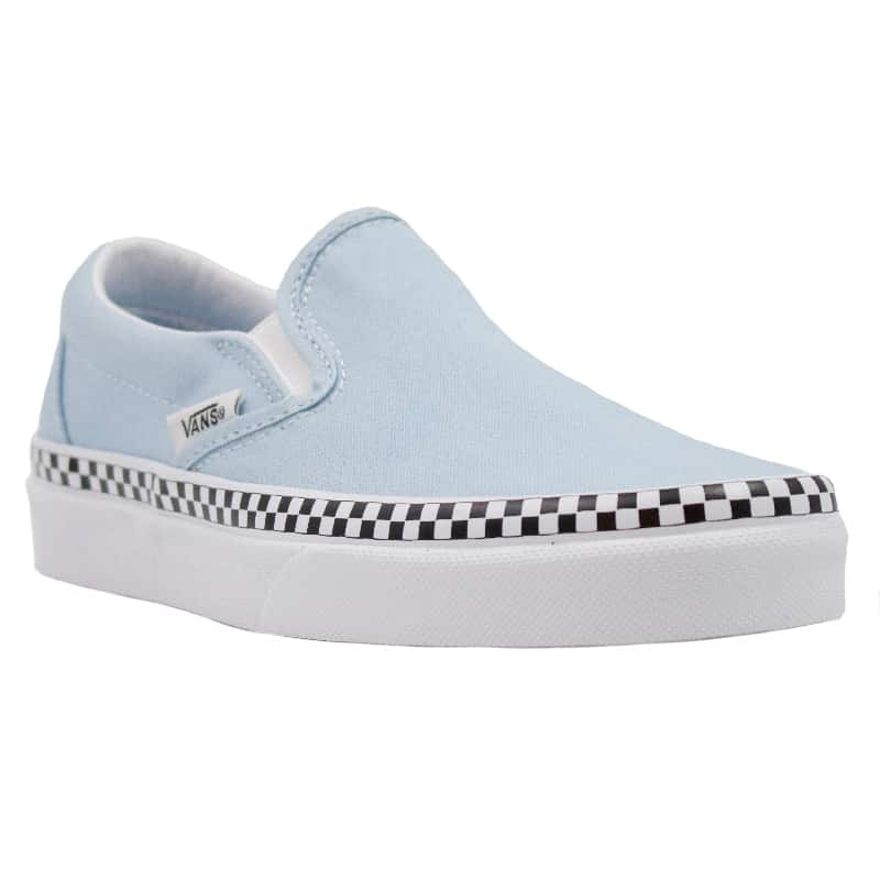 VANS CLASSIC SLIP ON COOLBLUE WHITE BLUE