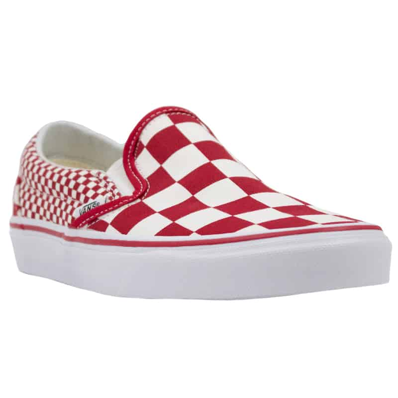 VANS CLASSIC SLIP ON CHILLI PEPER MIX RED