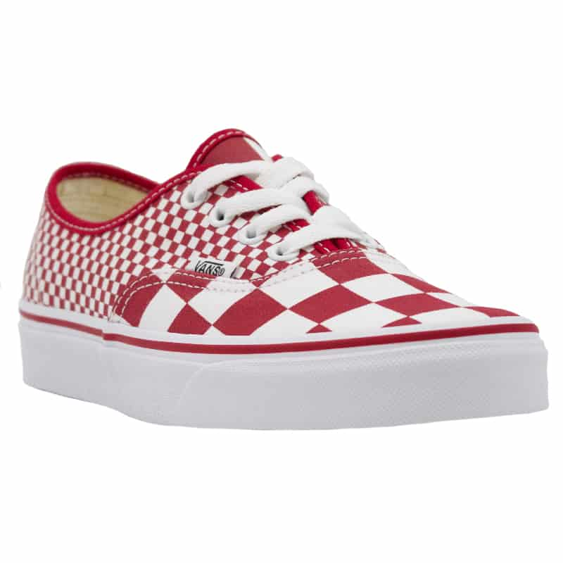 VANS AUTHENTIC CHILLI PEPPER MIX CHECKER RED